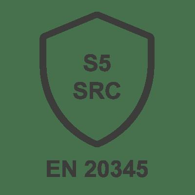 Norme chaussures de sécurité EN 20345